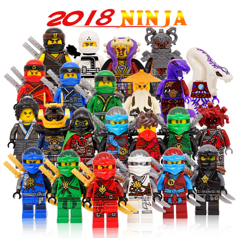 Building Blocks Compatible with LegoINGlys Ninjagoes Sets Children Bricks Kai Jay Cole Zane Nya Lloyd Weapon Action Toy for Kids bela 911pcs ninjagoes epic dragon battle building block set jay zx chokun minifigures kids toy compatible with legoes 9450