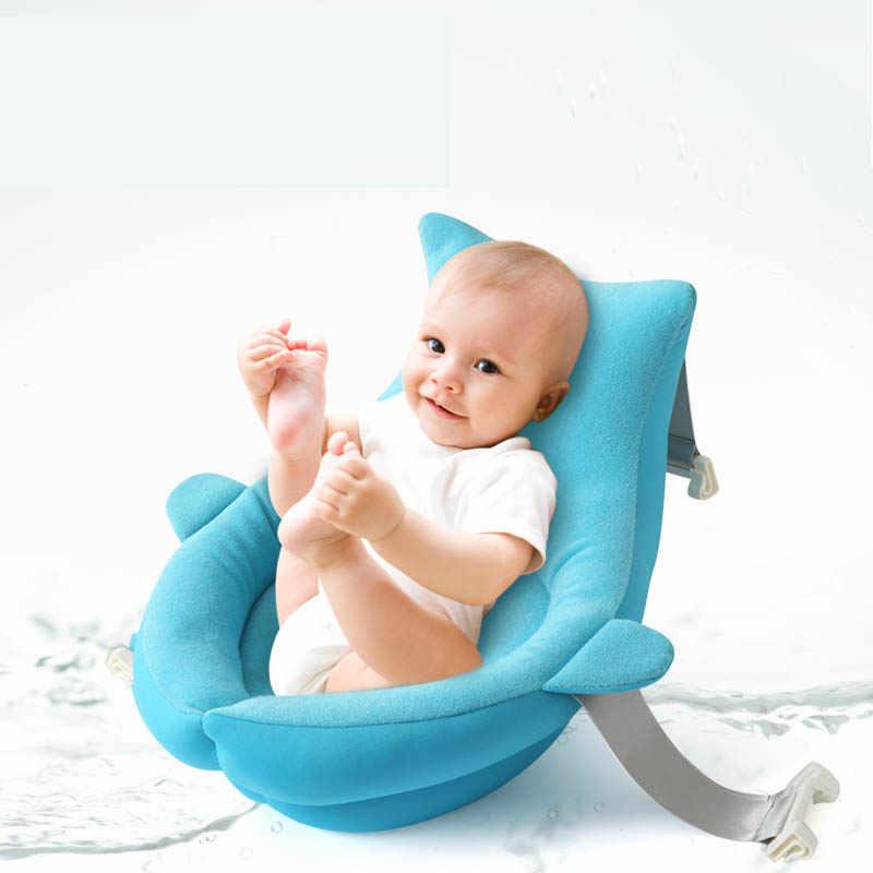 ベビーシャワーのお風呂パッドポータブルエアクッションベッドシエラネバダ/椅子/棚非スリップ浴槽マット漫画安全セキュリティバスの座席サポート枕