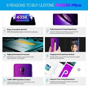 Image 5 - Ulefone P6000 Plus 6350 MAh Điện Thoại Thông Minh Android 9.0 6 Inch HD + Camera Kép Ouad Core 3GB 32GB điện Thoại Di Động 4G Di Động Điện Thoại Android