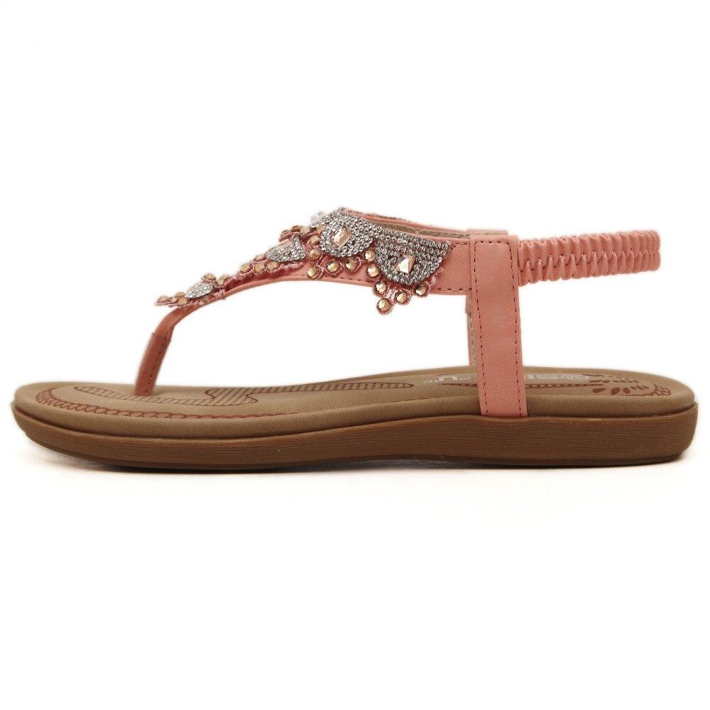 De Mode Femmes Chaussures 35 Loisirs 40 Nouvelle Siketu Marque Sandales Strass 2017 Plage D'été Bohême MSUVpqz