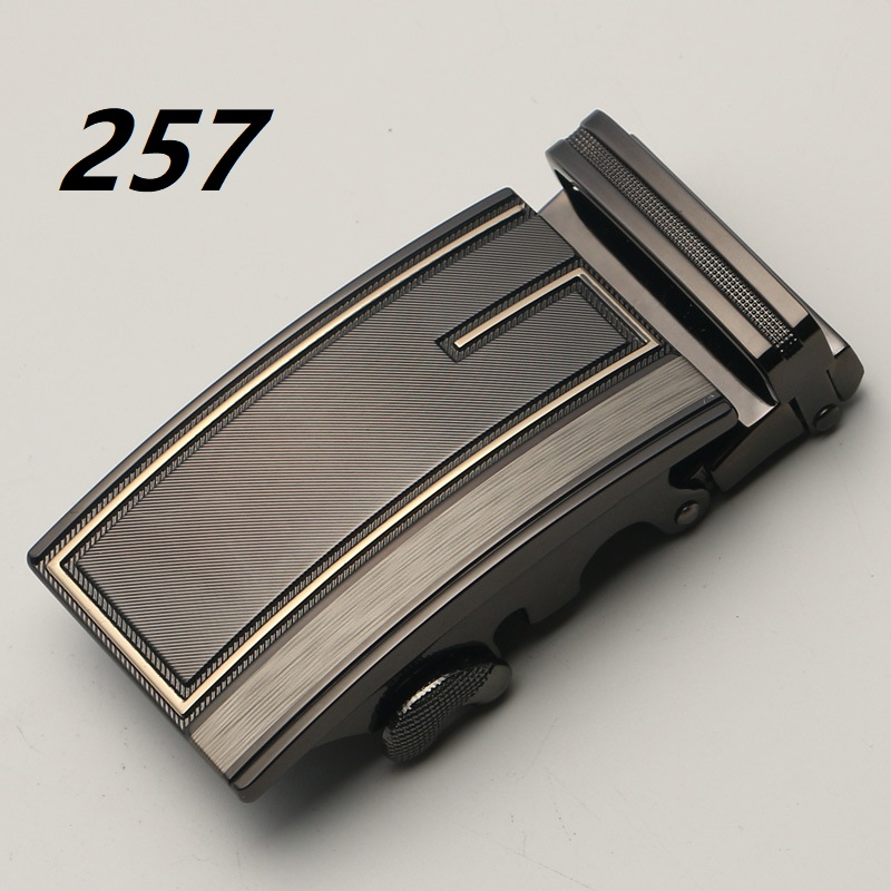 Business buckle for belt Alloy Automatic buckle belt waistband men's trousers lead business casual 3.5cm Semi finished product