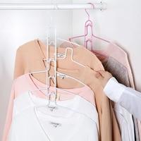 Multi Layer Iron Hanger Household Wardrobe Hanging Hanger Multifunctional Clothing Racks Clothes Racks Clothing Clothes Racks
