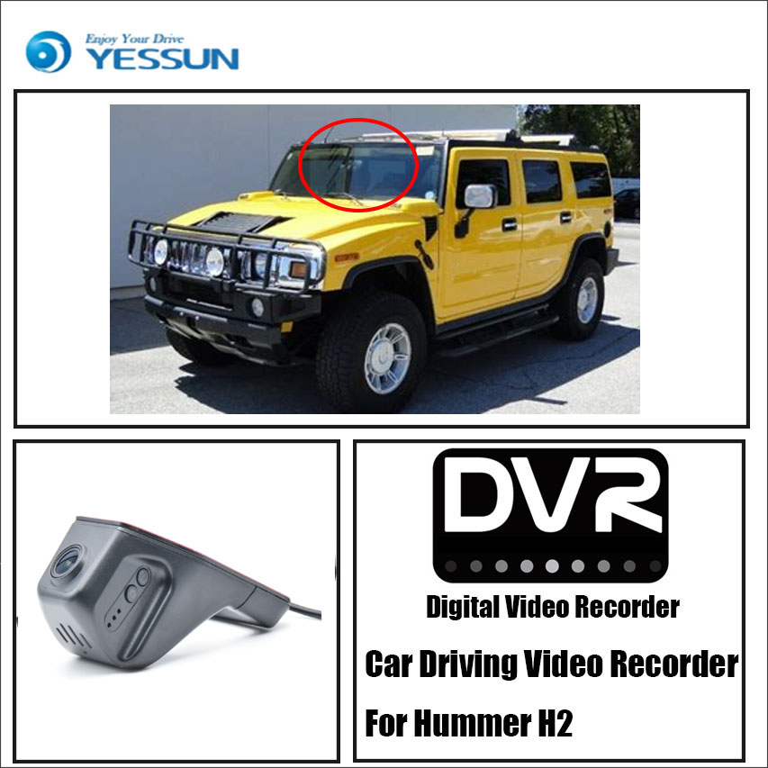 YESSUN for Hummer H2 Car Driving Video Recorder Wifi DVR Mini  Camera Novatek 96658 FHD 1080P Dash Cam Night VisionYESSUN for Hummer H2 Car Driving Video Recorder Wifi DVR Mini  Camera Novatek 96658 FHD 1080P Dash Cam Night Vision