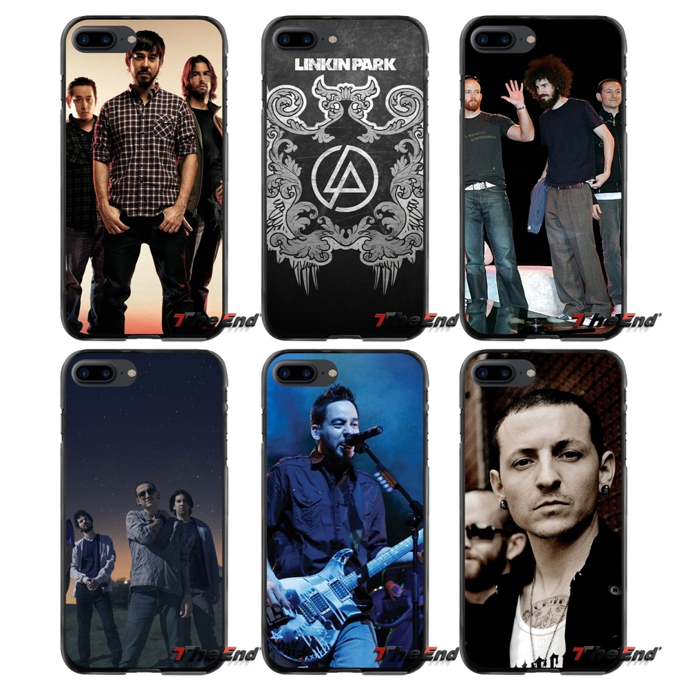 Music Linkin park For Apple iPhone 4 4S 5 5S 5C SE 6 6S 7 8 Plus X iPod Touch 4 5 6 Accessories Phone Cases Covers