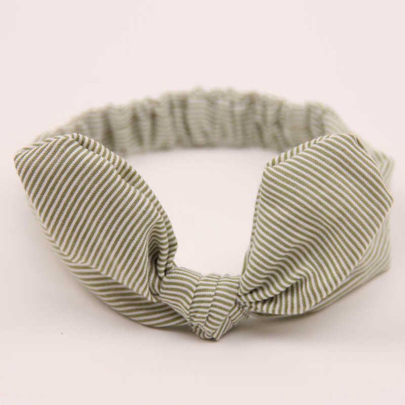 Аксессуары для волос для новорожденных, эластичная повязка на голову для девочек, повязка на узел, повязка-тюрбан для головы, повязка на голову