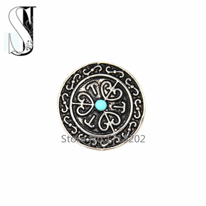 Newest Wholesale Snap Buttons With Resin Round ball Charms Carved Heart Snap Buttton Charms for bracelet SB712