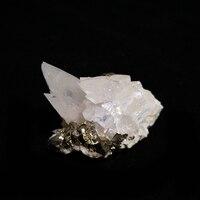 55 г Природный кальцит Пирит хрустальные образцы A4-13H