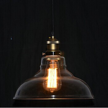 1 Light American Loft Style Edison Bulb Vintage Industrial Pendant Lamps With Transparent Shade,Bulb Included E271 Light American Loft Style Edison Bulb Vintage Industrial Pendant Lamps With Transparent Shade,Bulb Included E27