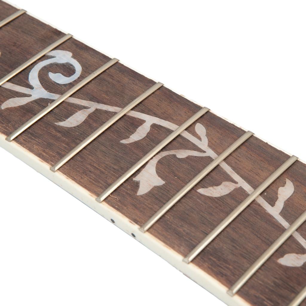 NAOMI 2 pcs guitare Fretboard acoustique Folk guitare palissandre Fretboard touche pour 41 ''20 Fret pièces de guitare accessoires nouveau - 4