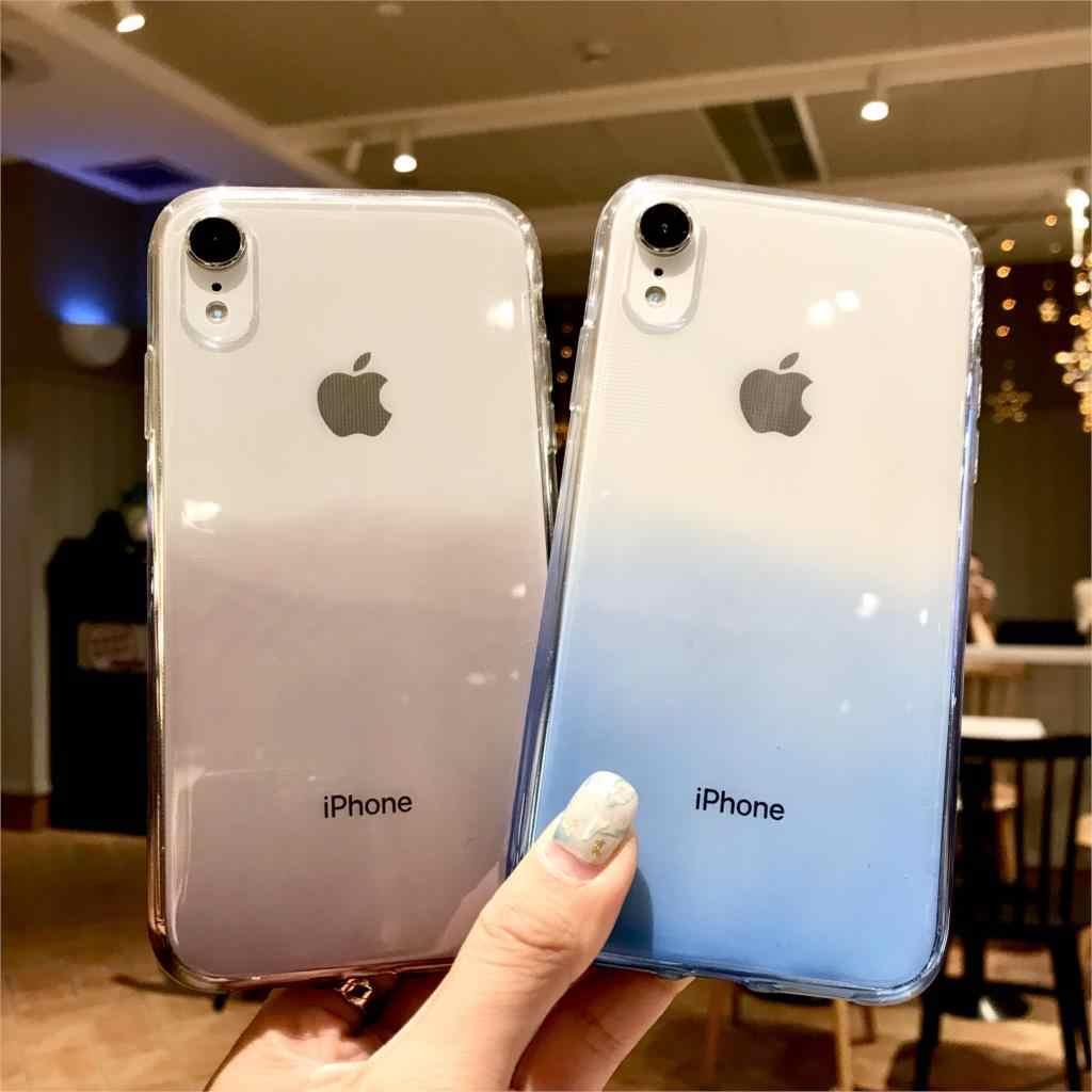 Étui pour iphone coloré couleur arc-en-ciel TPU XR SE 5 5 S 6 6 S 7 8 Plus X XS MAX étui en Silicone Fundas OnePlus 3 3 T 5 T 6 étuis
