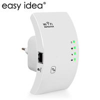 EASYIDEA Wireless WIFI Repeater 300Mbps Wifi Amplifier 2 4G Range Extender 802 11N B G Signal