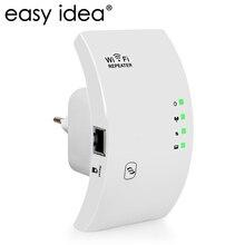Easyidea Беспроводной WI-FI повторителя 300 Мбит/с Wi-Fi Усилители домашние 2.4 г Range Extender 802.11N/B/G усилитель сигнала repetidor AP/режим повторителя