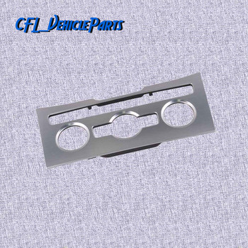Brushed Aluminum Air Condition Control Panel Dash Center Trim Bezel CD Player Surround 3AD863082A 20V For VW Passat B7 CC 2015