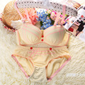 Sexy Lady Women Push Up Bra Brief Sets Women Push Up Bra A Cup Hot Underwear Set Women Sexy Push Up Bra Brief Sets For Girls