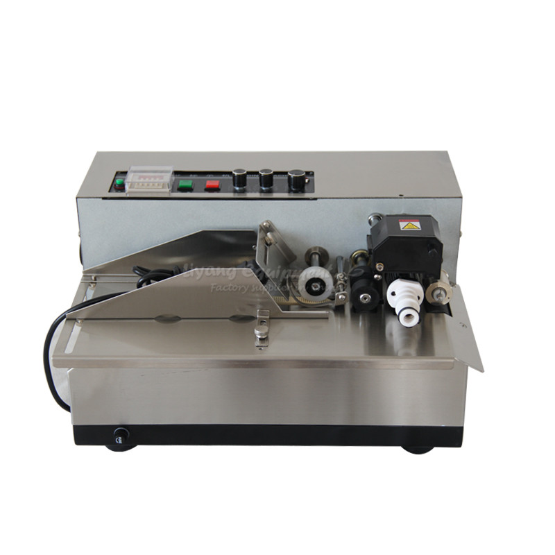 180W automatic ink roller coding machine MY-380 new my 380f ink wheel coding machine ink wheel marking machine automatically continuous marking machine 180w 220v 110v 50hz 60hz