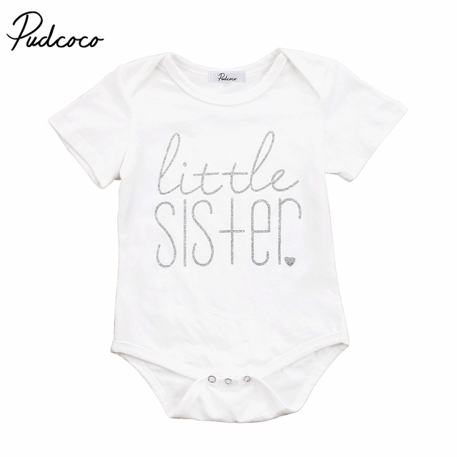 ffcef4df9 Cute Family Clothing Big Brother Little Sister Kid Boys Baby Girls ...