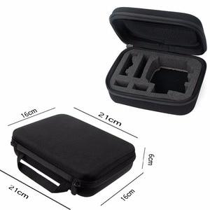 Image 5 - Xiao mi Mi jia 4K 액션 카메라 액세서리 방수 하우징 + 프레임 쉘 + 스킨 케이스 + 렌즈 캡 + 보호 필름 + 보관 가방