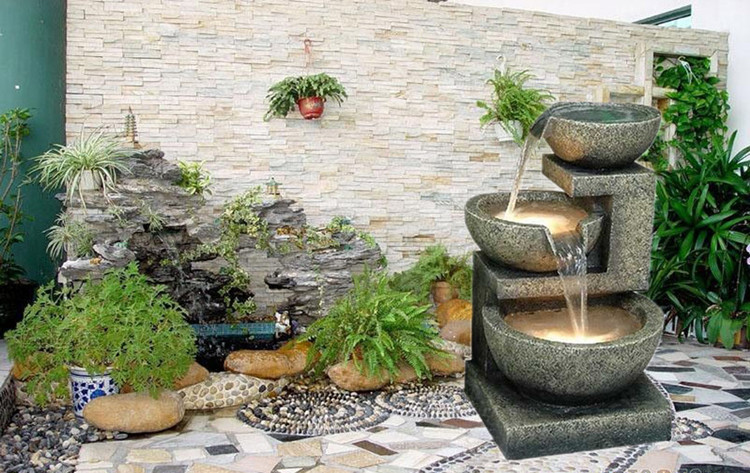 Elegant European Household Creative Craft Indoor Water Fountain Courtyard Balcony  Floor Furnishing Accessories Living Room Large Rockery On Aliexpress.com |  Alibaba ...