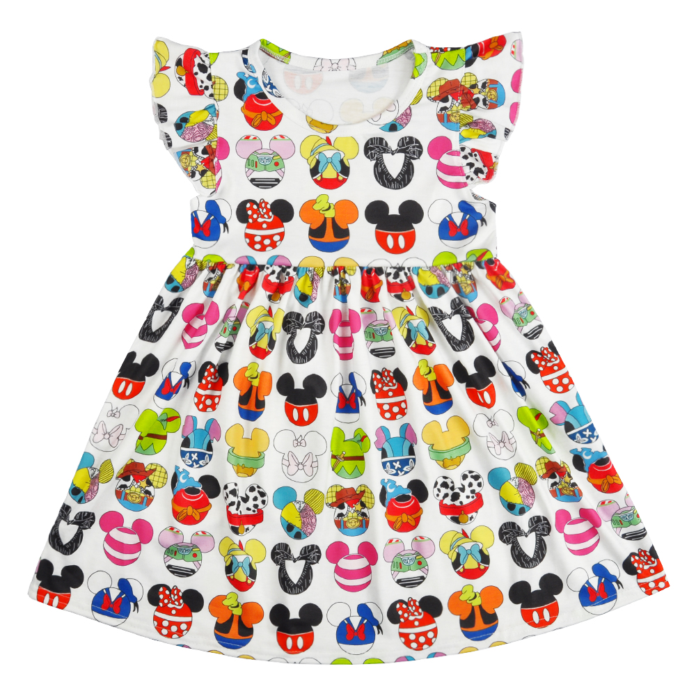 Remake Summer Girls Dresses Baby Sleeveless Cotton Girl Pattern Baby Girls Clothes Ruffle Party Dress Princess dress LYQ903-674Remake Summer Girls Dresses Baby Sleeveless Cotton Girl Pattern Baby Girls Clothes Ruffle Party Dress Princess dress LYQ903-674