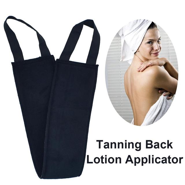 Self Tanning Mitts Back Applicator Matt Perfect for tanning lotions, Creams & Mousses-holds Just Enough Product to Apply Evenly