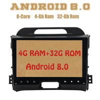Dasaita PX5 Android 8,0 автомобиль радио gps для kia sportage 2010 2016 с Octa core 4G Оперативная память 32G Встроенная память Wi Fi 4g usb Auto стерео Multimed
