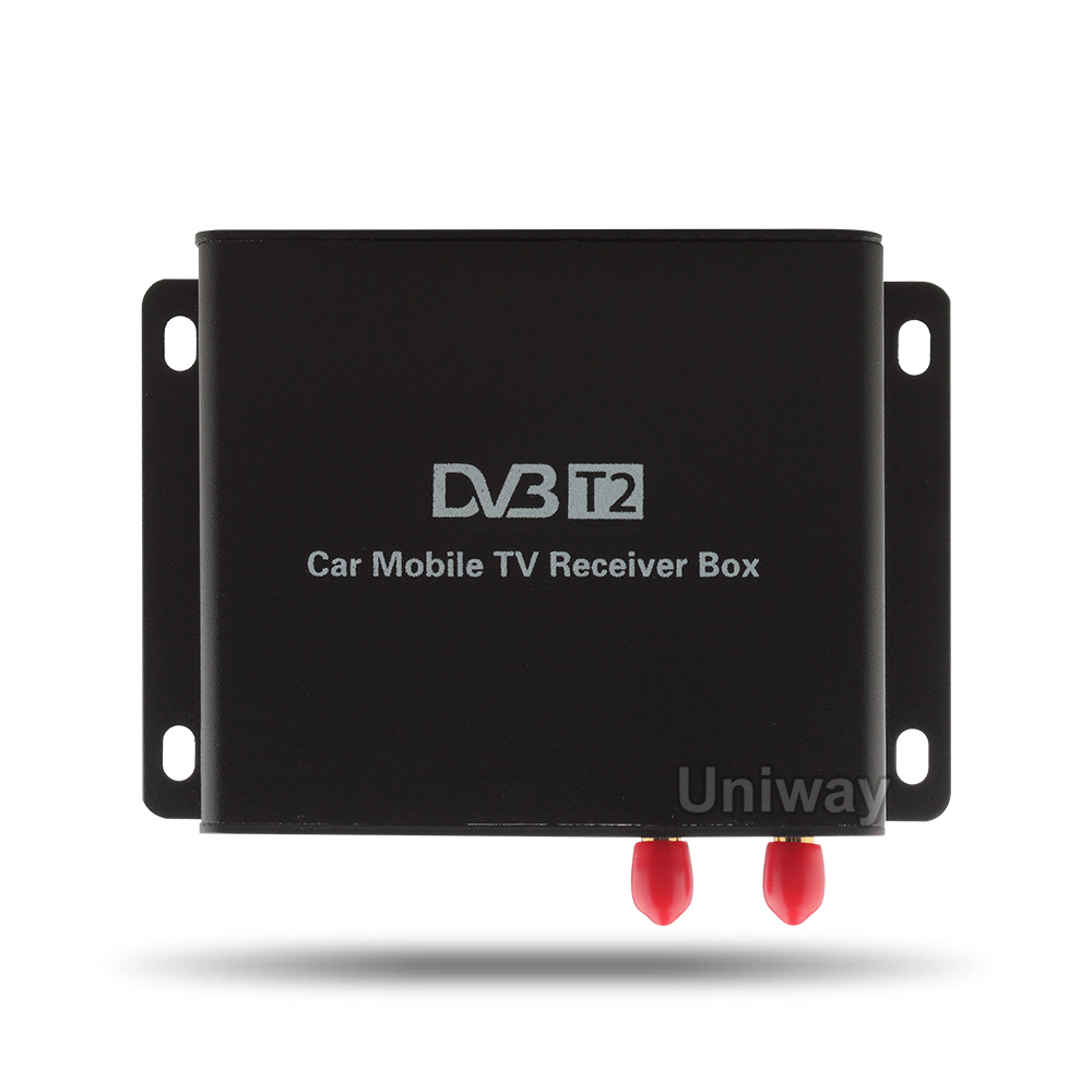 DVB-T2/ISDB-T/DVB-T BOX and TV connector to support the TV function dvb t rf coaxial to mcx tv antenna connector black 22cm cable