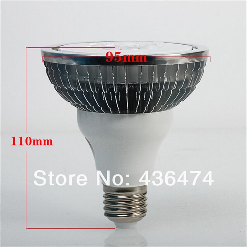 12pcs/lot Led Par30/par38 Cob 15w 20w E27 Spotlighting Free Shipping Led Light Spot Par Led Par Bulb Hottest Product Par30 Ce&ro Light Bulbs