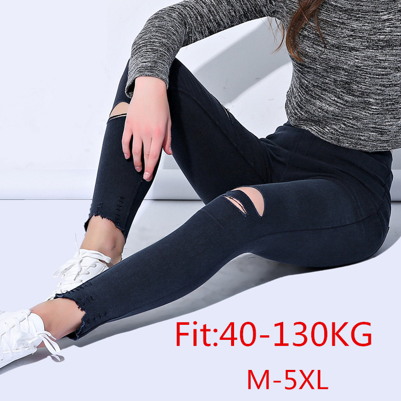 Women   Leggings   Plus Size Thick 5XL Big Sizes Large   Legging   Black Femme Trousers