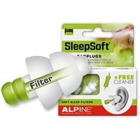 Alpine Sleepsoft Travel Sleeping Earplugs Anti Snore Earplugs Anti Noise Swim Ear Plugs plus block shoring S Child L adult