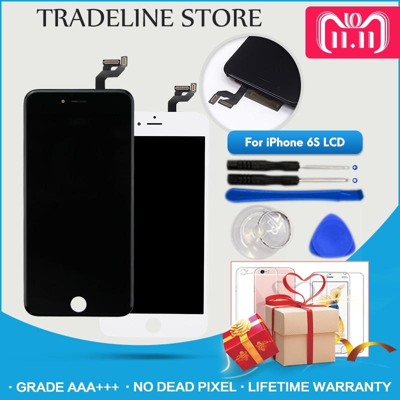 Grade AAA +++ LCD Für iPhone 6 6 s Plus Montage Ersatz Display Keine Tote Pixel 100% Getestet Mit 3D Touch Kostenloser Versand