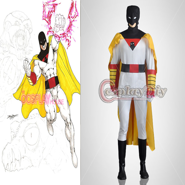 dc comics space ghost costume suit adult mens halloween carnival cosplay costumechina mainland - Space Ghost Halloween Costume