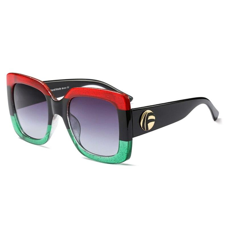 BELMON Sunglasses Women Fashion Brand Designer Oversized Sun Glasses Ladies UV400 For Female Big Frame Shades RS338 in Women 39 s Sunglasses from Apparel Accessories