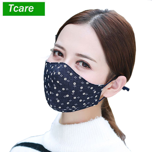 1Pcs Fashion Face Mouth Mask Anti Dust Mask Filter Windproof Mouth-muffle Bacteria Proof Flu Face Masks Care Reusable