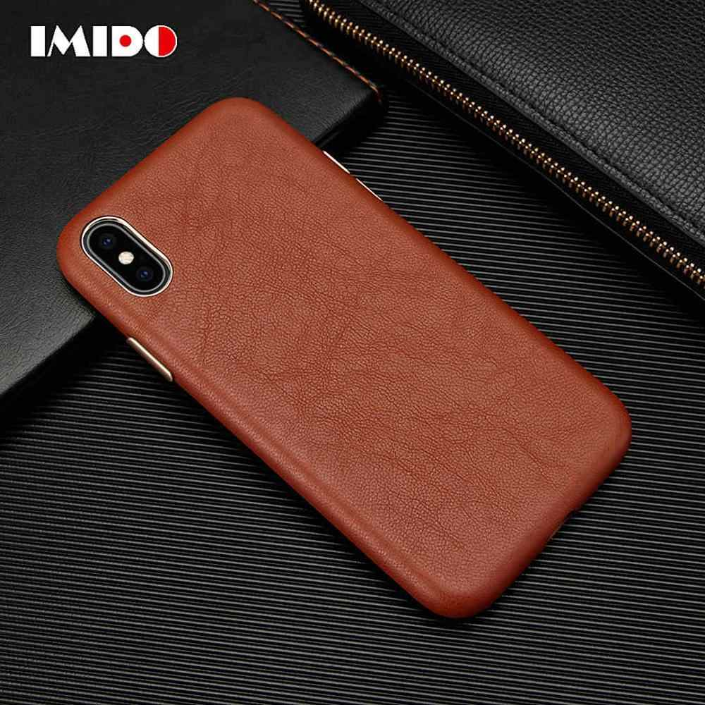 Luxe Lederen Telefoon Case Voor Iphone Xsmax Xr Xs X 8 7 Plus 11 Pro Max 11 Pro Ultra- dunne Schapenvacht Back Cover Voor Iphone 7 Coque