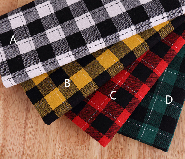 Mylb 50*140 cm tecido xadrez arco para tecido crianças roupa de cama casa têxtil para costurar tilda boneca