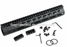 Funpowerland Tactical Ultra Slim M-LOK Free Float 12 inch Rail Mount handguard Fit AR15 M4 M16 .223 5.56 With Barrel Nut