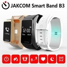 Новинка 2017 jakcom B3 Смарт часы новый продукт bluetooth наушники с Пользовательские Ухо Вилки VS mi Группа 2 SmartBand