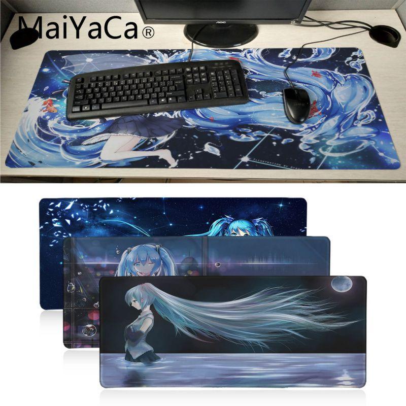 Vocaloid Hatsune Miku Anime Girl Large Mouse Pad Keyboard Mat Game Playmat