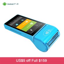 Android 7 0 New Bank Payment Terminal 5 Inch Touch Screen POS Machine With IC Card