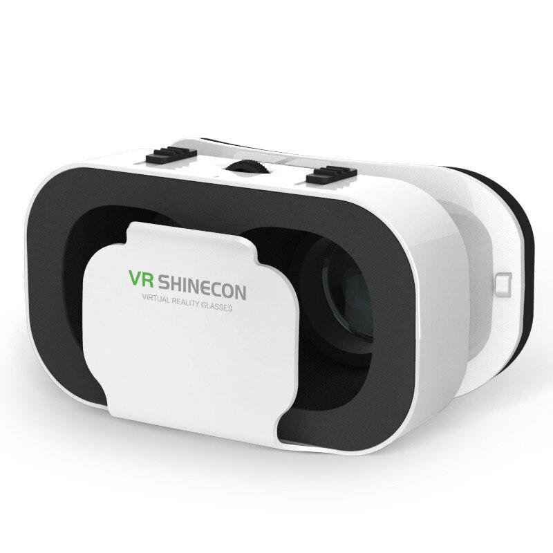Новая VR SHINECON G05A 3D гарнитура для очков виртуальной реальности для 4,7-6,0 дюймов Android iOS смартфонов