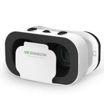 Neue VR SHINECON G05A 3D VR Gläser Headset für 4,7-6,0 zoll Android iOS Smart Handys