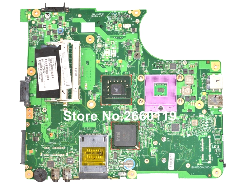 ФОТО 100% Working Laptop Motherboard For Toshiba L300 L305 V000138460 Main Board Fully Tested