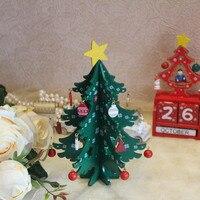20CM Mini en bois joyeux arbre de noël Table décor arbre de noël ornements décoration de noël bonne année décor à la maison cadeau