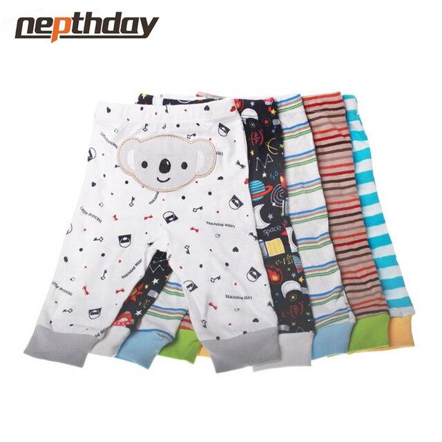 PP Pants 5pcs/lot 2016 Baby Fashion Model Babe Pants Cartoon Animal Printing Baby Trousers Kid Wear Baby Pants15-199