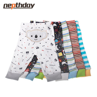 PP Pants 5pcs Lot 2016 Baby Fashion Model Babe Pants Cartoon Animal Printing Baby Trousers Kid