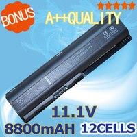 8800MAH 12 Cells Battery for HP Pavilion DV4 DV5 DV6 G50 G60 G61 G70 G71 CQ40 CQ45 CQ50 HDX X16