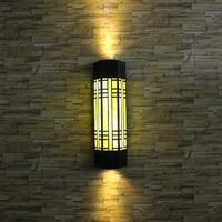 Открытый настенный светильник входная дверь Двор Сад крыльцо коридор фары ретро настенный светильник напольный светильник стены Водонепр