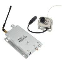 Safurance 1 2G Wireless Camera Kit Radio AV Receiver With Power Supply Surveillance Home Security