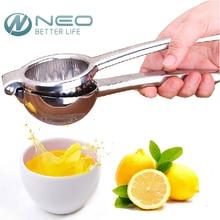 Neo heavy duty edelstahl lemon squeezer design kaltpresse saftpresse für zitronen und limetten manuelle entsafter presse zitruspresse