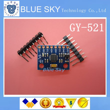 Бесплатная Доставка 5 ШТ./ЛОТ GY-521, MPU-6050 Модуль, MPU6050, 3 Оси датчики аналоговый гироскоп + 3 Оси Акселерометра Модуля
